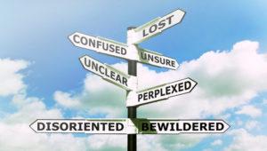 Signpost - uncertain about a change