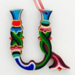 HDIF - painted wooden letter U