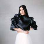Bohyne - black top white skirt - wedding fasion